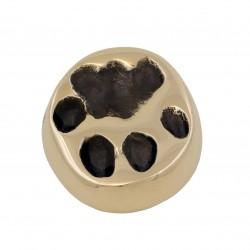 lynx paw bronze size 1:1